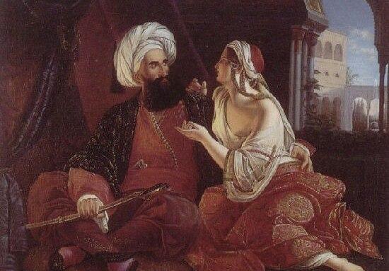 Султан и рабыня